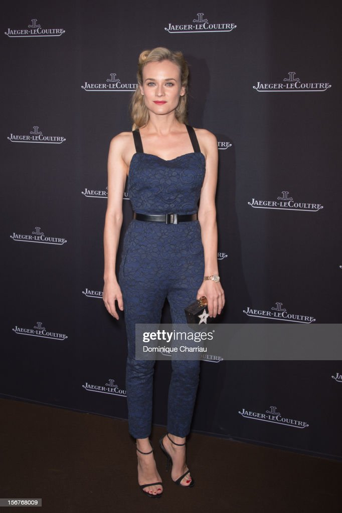 Diane Kruger attends the Jaeger-LeCoultre Place Vendome Boutique Opening at Jaeger-LeCoultre Boutique on November 20, 2012 in Paris, .