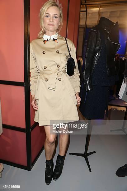 Diane Kruger attends the 'Japan Rive Gauche' Exhibition At Le Bon Marche In Paris on September 2 2014 in Paris France