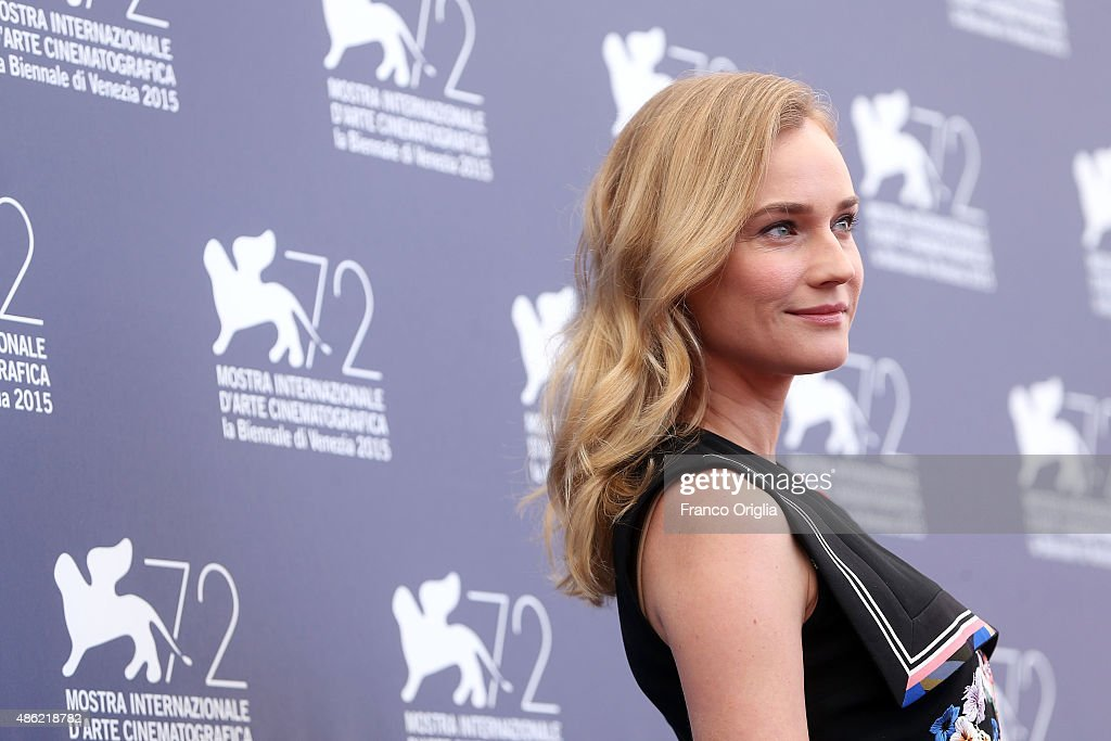 Diane Kruger attends the Jury Photocall during the 72nd Venice Film Festival on September 2, 2015 in Venice, Italy.