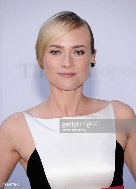 Diane Kruger attends the Metropolitan Opera Season Opening Production Of Eugene Onegin at The Metropolitan Opera House on September 23 2013 in New...