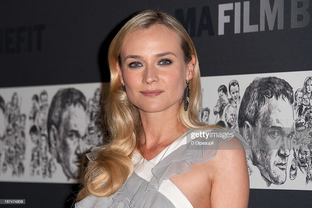 Diane Kruger attends the Museum of Modern Art film benefit honoring Quentin Tarantino on December 3, 2012 in New York City.