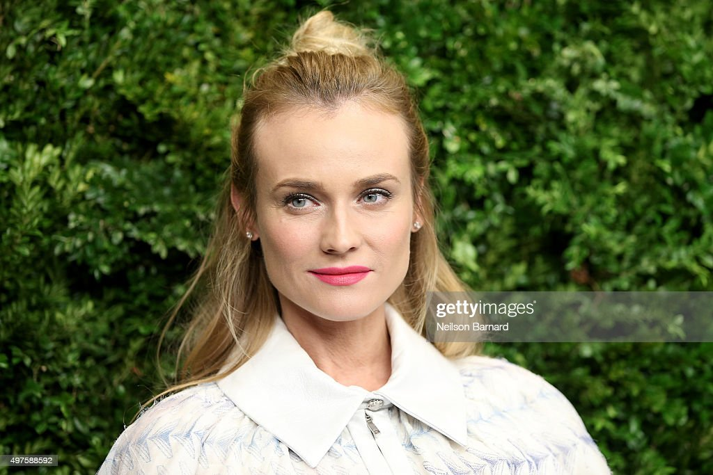 Diane Kruger attends the Museum of Modern Art's 8th Annual Film Benefit Honoring Cate Blanchett at the Museum of Modern Art on November 17, 2015 in New York City.