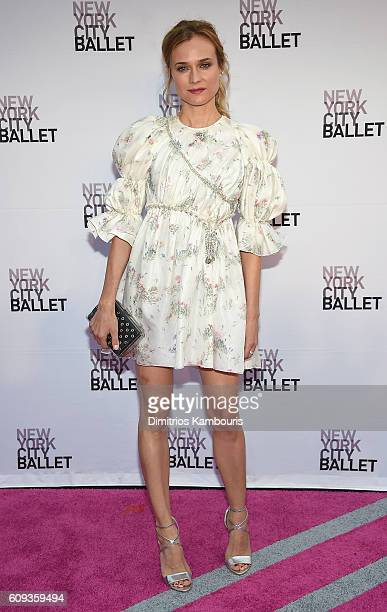Diane Kruger attends the New York City Ballet 2016 Fall Gala at David H Koch Theater at Lincoln Center on September 20 2016 in New York City