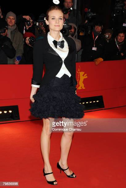 Diane Kruger attends The Other Boleyn Girl premiere during day nine of the 58th Berlinale Film Festival at the Berlinale Palast on February 15, 2008...