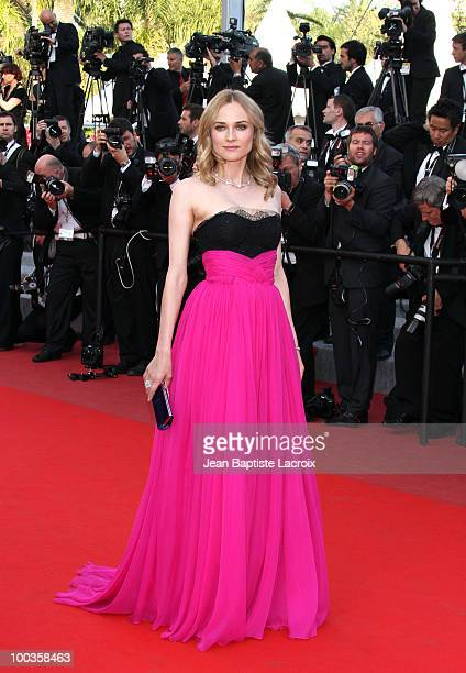 Diane Kruger attends the Palme d'Or Closing Ceremony held at the Palais des Festivals during the 63rd Annual International Cannes Film Festival on...