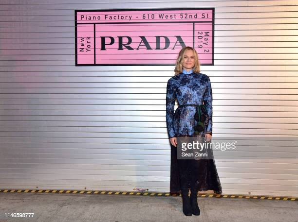 Diane Kruger attends the Prada Resort 2020 fashion show at Prada Headquarters on May 02, 2019 in New York City.