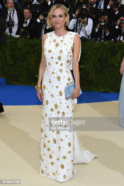 Diane Kruger attends the 'Rei Kawakubo/Comme des Garcons Art Of The InBetween' Costume Institute Gala at Metropolitan Museum of Art on May 1 2017 in...