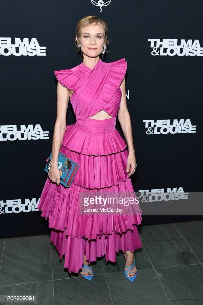 "Diane Kruger attends the screening of ""Thelma & Louise"" Women In Motion at Museum of Modern Art on January 28, 2020 in New York City."