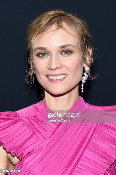 Diane Kruger attends the screening of Thelma Louise Women In Motion at Museum of Modern Art on January 28 2020 in New York City