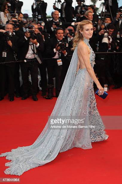Diane Kruger attends the 'Sea Of Trees' premiere during the 68th annual Cannes Film Festival on May 16 2015 in Cannes France