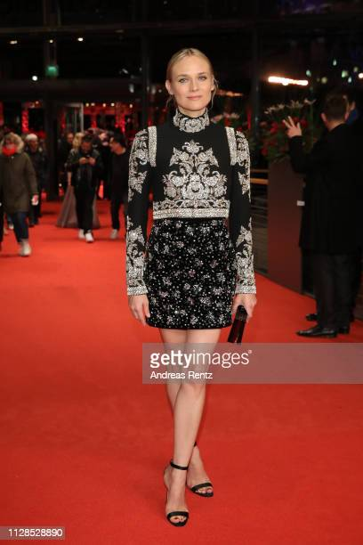 Diane Kruger attends the The Golden Glove premiere during the 69th Berlinale International Film Festival Berlin at Berlinale Palace on February 09...