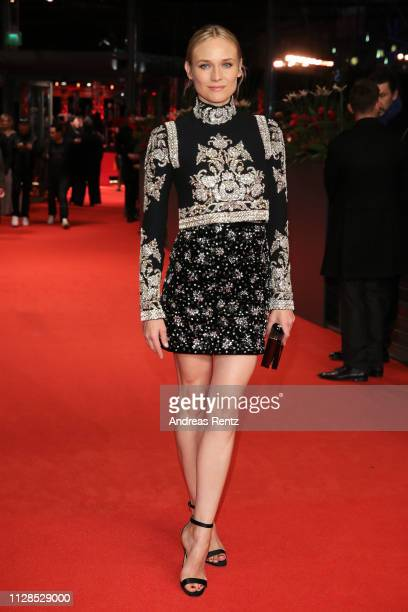 "Diane Kruger attends the ""The Golden Glove"" premiere during the 69th Berlinale International Film Festival Berlin at Berlinale Palace on February 09,..."
