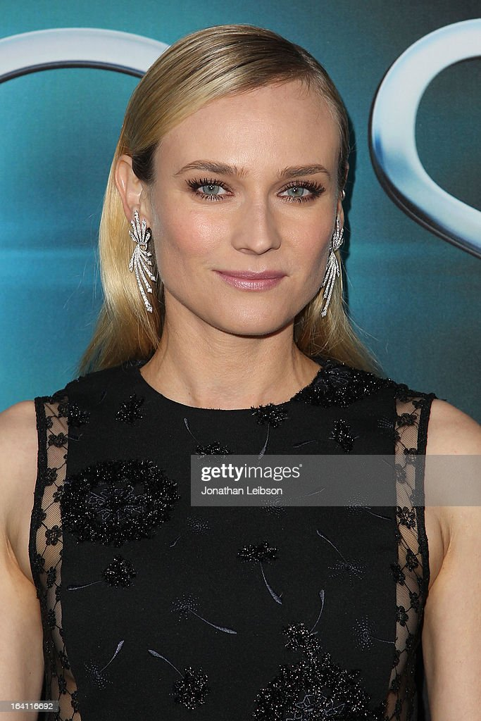 Diane Kruger attends the 'The Host' Los Angeles premiere at ArcLight Cinemas Cinerama Dome on March 19, 2013 in Hollywood, California.