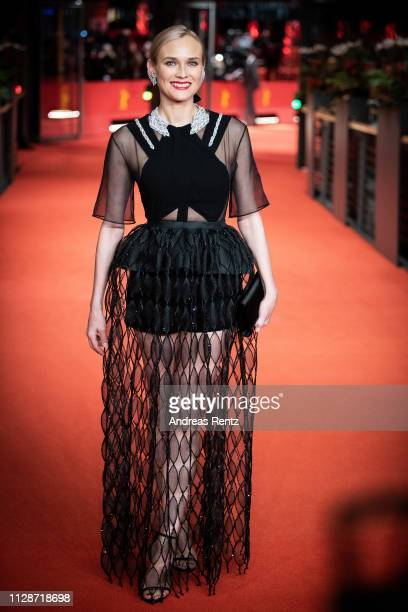 "Diane Kruger attends the ""The Operative"" premiere during the 69th Berlinale International Film Festival Berlin at Berlinale Palace on February 10,..."