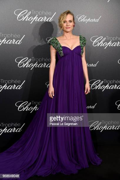 Diane Kruger attends the Trophee Chopard during the 71st annual Cannes Film Festival at Hotel Martinez on May 14 2018 in Cannes France