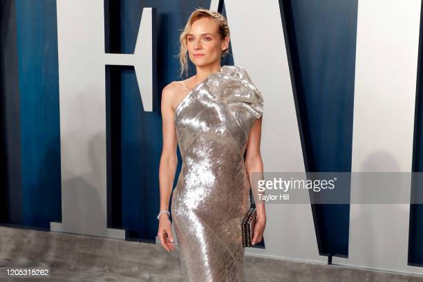 Diane Kruger attends the Vanity Fair Oscar Party at Wallis Annenberg Center for the Performing Arts on February 09 2020 in Beverly Hills California