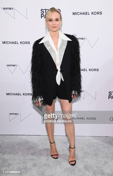 Diane Kruger attends the Whitney Museum Of American Art Gala + Studio Party at The Whitney Museum of American Art on April 09, 2019 in New York City.