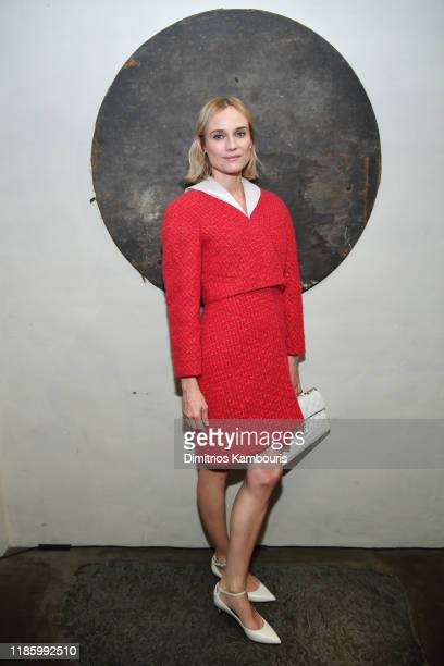 Diane Kruger attends Through Her Lens: The Tribeca CHANEL Women's Filmmaker Program Cocktail at Greenwich Hotel Penthouse on November 06, 2019 in New...