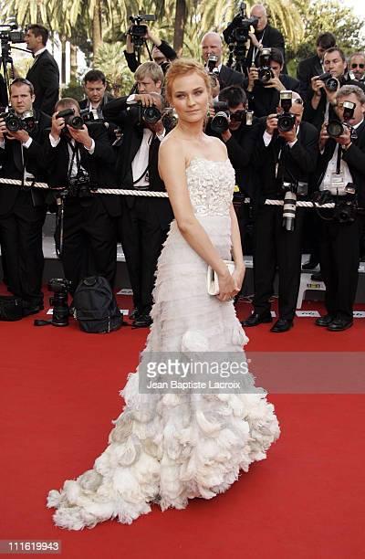 Diane Kruger during 2006 Cannes Film Festival Palme D'Or Arrivals at Palais des Festivals in Cannes France
