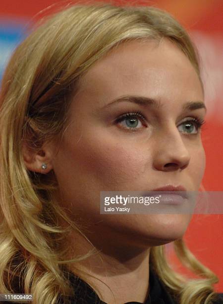 "Diane Kruger during 2006 San Sebastian International Film Festival - ""Copying Beethoven"" Press Conference and Photocall at Kursaal Palace in San..."