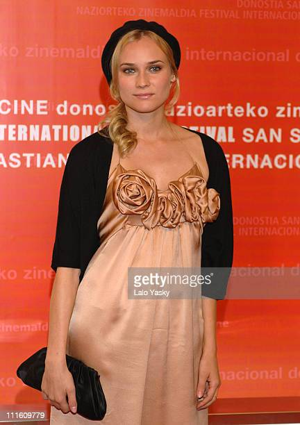 "Diane Kruger during 2006 San Sebastian International Film Festival - ""Copying Beethoven"" Screening at Kursaal Palace in San Sebastian, Guipuzcoa,..."