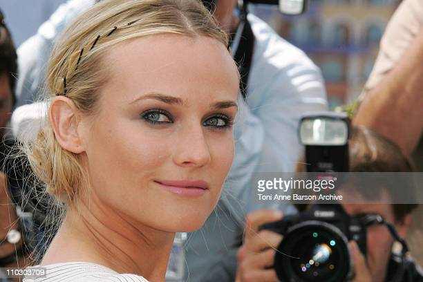Diane Kruger during 2007 Cannes Film Festival - Master of Ceremonies Photocall at Palais des Festivals in Cannes, France.