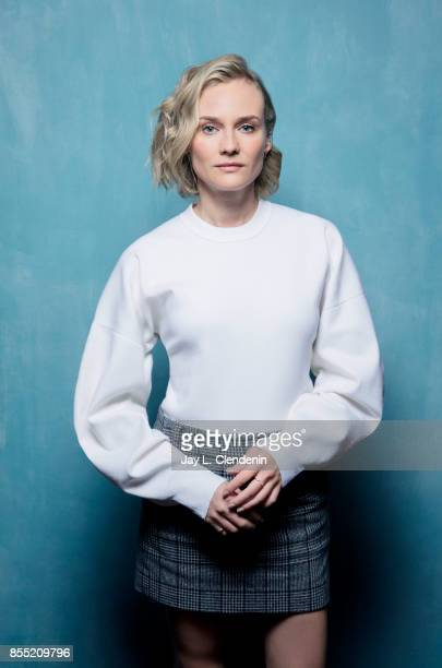 Diane Kruger from the film In the Fade poses for a portrait at the 2017 Toronto International Film Festival for Los Angeles Times on September 12...