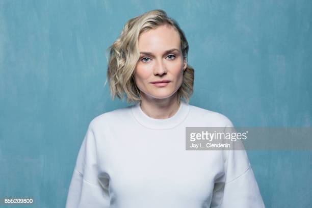 Diane Kruger from the film 'In the Fade' poses for a portrait at the 2017 Toronto International Film Festival for Los Angeles Times on September 12...