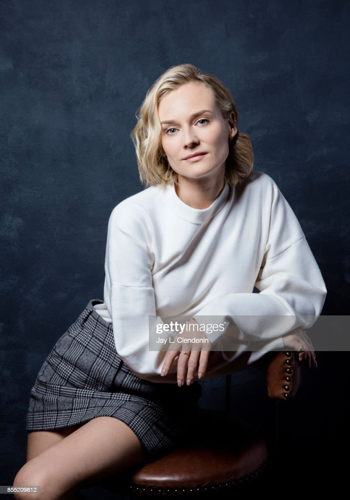 Diane Kruger from the film 'In the Fade,' poses for a portrait at the 2017 Toronto International Film Festival for Los Angeles Times on September 12, 2017 in Toronto, Ontario.