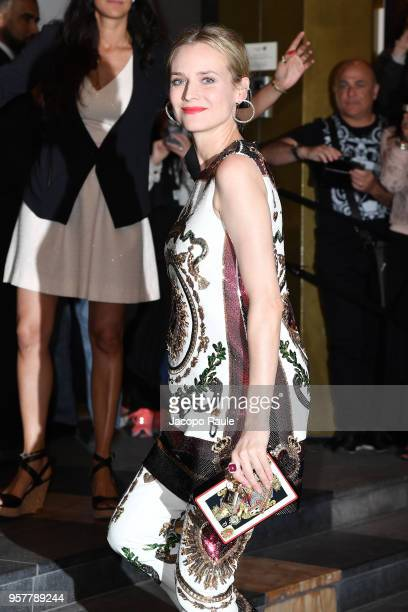 Diane Kruger is seen arriving at Dior dinner during the 71st annual Cannes Film Festival at on May 12 2018 in Cannes France