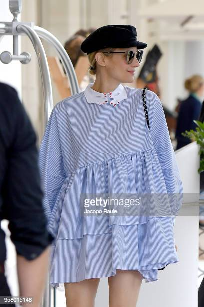 Diane Kruger is seen arriving at Hotel Martinez during the 71st annual Cannes Film Festival at on May 13, 2018 in Cannes, France.