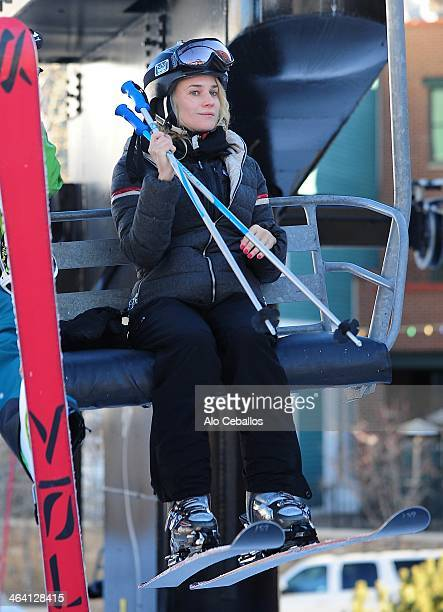 Diane Kruger is seen at Sundance Festival on January 20 2014 in Park City Utah