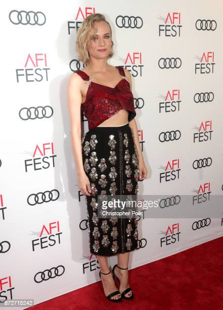 Diane Kruger is seen at the 'In The Fade' photocall at AFI FEST 2017 Presented By Audi at TCL Chinese 6 Theatres on November 10 2017 in Hollywood...