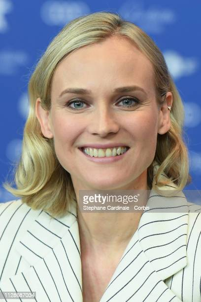 Diane Kruger is seen at the 'The Operative' press conference during the 69th Berlinale International Film Festival Berlin at Grand Hyatt Hotel on...