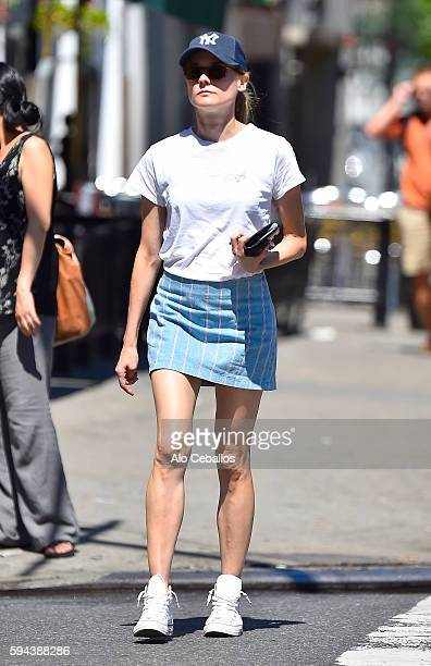 Diane Kruger is seen in the East Village on August 23 2016 in New York City