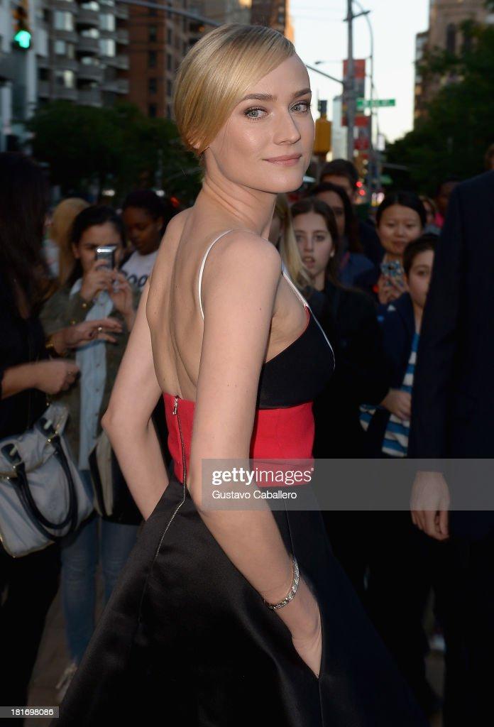 Diane Kruger is seen New York on September 23, 2013 in New York City.