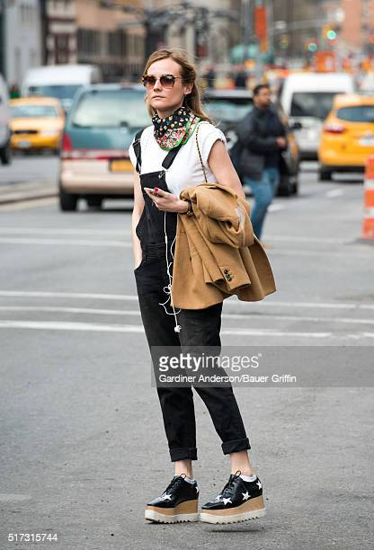 Diane Kruger is seen on March 24 2016 in New York City
