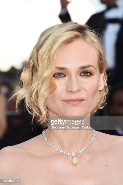 Diane Kruger of the 'In The Fade ' attend the Closing Ceremony during the 70th annual Cannes Film Festival at Palais des Festivals on May 28 2017 in...