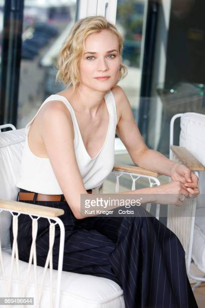 Diane Kruger poses at a 'Kering Women in Motion' panel during the 70th Film festival in Cannes on May 24th 2017 at the Hotel Majestic in Cannes France