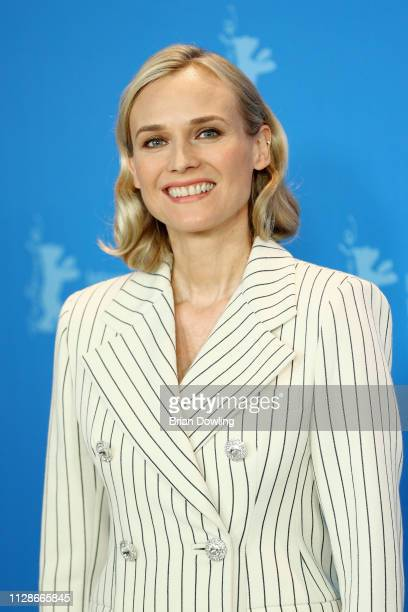 "Diane Kruger poses at the ""The Operative"" photocall during the 69th Berlinale International Film Festival Berlin at Grand Hyatt Hotel on February 10,..."