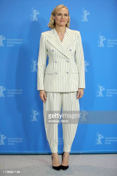 Diane Kruger poses at the 'The Operative' photocall during the 69th Berlinale International Film Festival Berlin at Grand Hyatt Hotel on February 10...