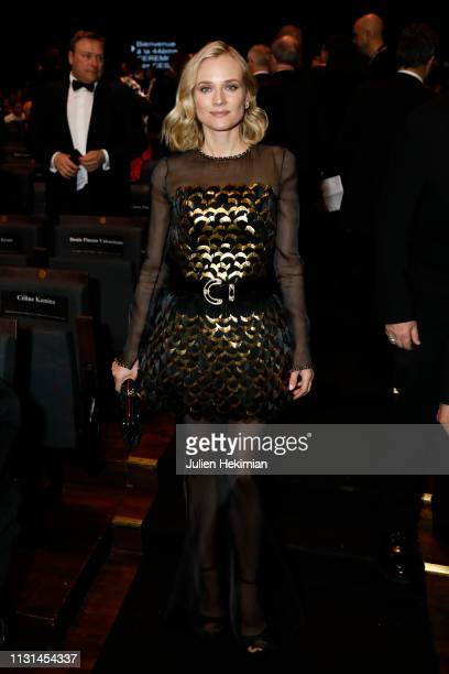 Diane Kruger poses during the Cesar Film Awards 2019 at Salle Pleyel on February 22 2019 in Paris France