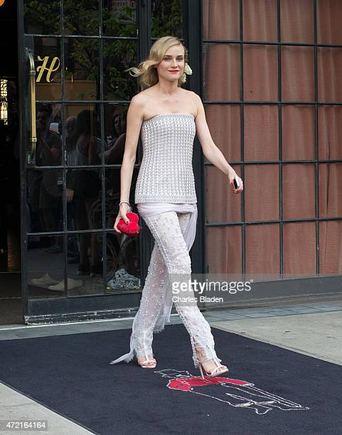 Diane Kruger seen leaving the Bowery hotel on May 4 2015 in New York City