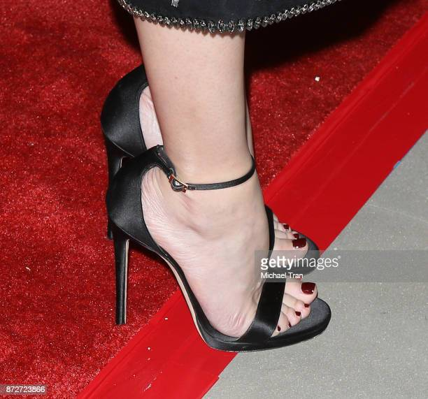 Diane Kruger shoe detail attends the AFI FEST 2017 Filmmakers' photo call held at TCL Chinese 6 Theatres on November 10 2017 in Hollywood California