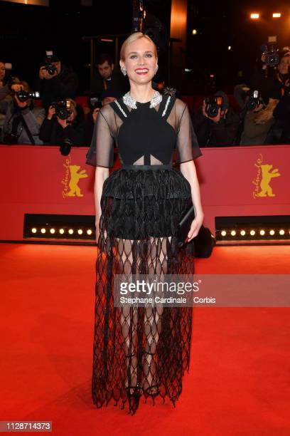 Diane Kuger attends the The Operative premiere during the 69th Berlinale International Film Festival Berlin at Berlinale Palace on February 10 2019...