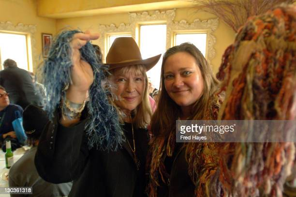 Diane Ladd and Dana DePree Minter during 2006 Sundance Film Festival SAG Indie Brunch 2 at Cafe Terigo in Park City Utah United States