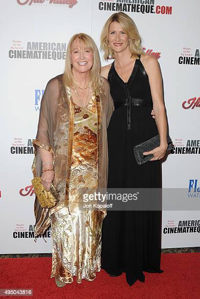 Diane Ladd and daughter Laura Dern arrive at the 29th American Cinematheque Award Honoring Reese Witherspoon at the Hyatt Regency Century Plaza on...