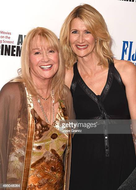 Diane Ladd and Laura Dern arrives at the 29th American Cinematheque Award Honoring Reese Witherspoon at the Hyatt Regency Century Plaza on October 30...