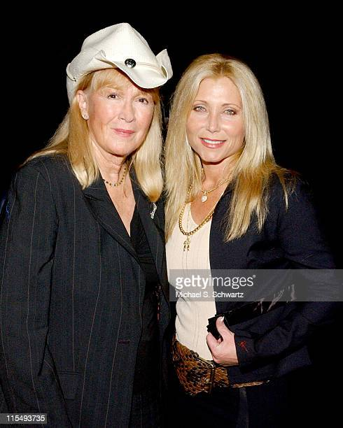 Diane Ladd and Pamela Bach Hasselhoff during The 20th Annual Charlie Awards at The Hollywood Roosevelt Hotel in Hollywood, California, United States.