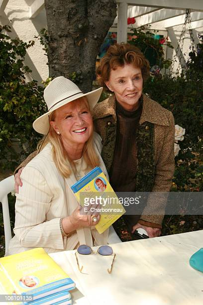 Diane Ladd and Peggy McCay during Book Party for Diane Ladd's 'Spiraling Through the School of Life' at Connie Stevens Residence in Los Angeles CA...